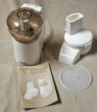 Sunbeam OSKAR Food Processor Chopper w/ Slicer Shredder & Manual 14081 FRANCE