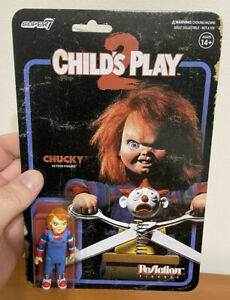 Child's Play 2 Evil Chucky ReAction Super7 Horror Figure New Unopened