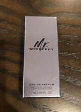 New! Mr. Burberry Eau De Parfum Sample Travel Trial 2 mL