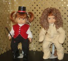15 Inch Lion Tamer and Lion Costume 2 costume for your twin dolls!