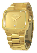 Nixon A140509 Player Gold Dial Diamond Men Watch New