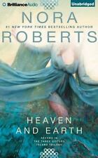 Nora Roberts HEAVEN AND EARTH Unabridged CD *NEW* FAST...