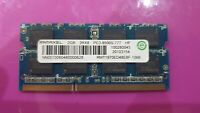 RAMAXEL 2GB RAM MEMORY DDR3 PC3-8500S-777 RMT1970ED48E8F 2Rx8 for laptop hp dell