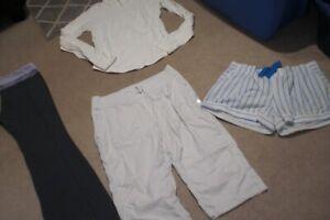 Lot of Lululemon Groove Pants, Crops, Shorts and Shape Jacket sz 12