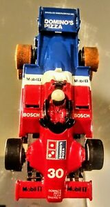Tyco Indy F1 Domino's Pizza red white and blue