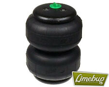 "Twin Bellow Air Bag D2500 Dominator Single Port 1/2"" VW Rear Air Ride Airbag"