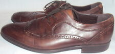ALDO, MEN'S BROWN SOFT LEATHER OXFORD, SIZE 44 M