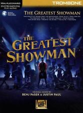 The Greatest Showman for Trombone Instrumental Play-Along Sheet Music Book/Audio