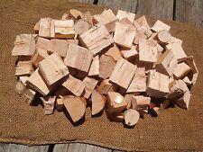 Oak BBQ Grilling Smoker Wood Chunks / Disk 14+ to 16 Lbs.+ Natrual Smoking Wood