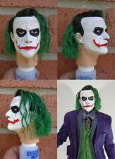 1/4 Scale figure custom The Joker head sculpt Hot Toys Enterbay compatible H11