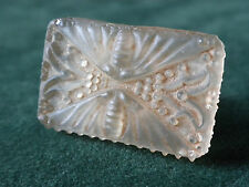 """RENE LALIQUE COTY PERFUME STOPPER, STAINED, MOTHS, BUTTERFLIES, BERRIES, 1 1/8"""""""