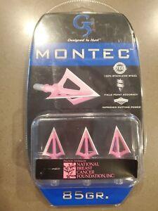 G5 Montec Broadhead Pink 85 gr. 3 pk.
