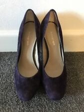 Autograph Insolia Ladies Heels Purple Shoes Size 3.5