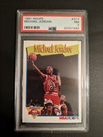 1991 Hoops Michael Jordan #317 PSA 7 - Chicago Bulls NICE CARD! 🐐
