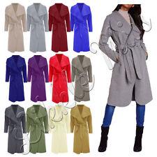 Knee Length Wool Waterfall Coats & Jackets for Women