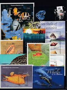 NT 10S/S - MNH - FISH - MARINE - REEF - WHALES - SHELLS - SAILBOATS - WHOLESALE