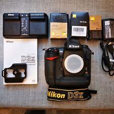 Nikon D D3x 24.5MP Digital SLR Camera - Black (Body Only). Super Mint