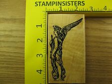 Rubber Stamp Heavenly Angel with Sword Stampinsisters #3902