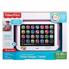Fisher-Price Laugh & Learn Smart Stages Tablet, Pink NEW