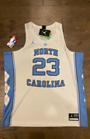 "Michael Jordan Player #23 ""UNC"" Carolina OFFICIAL Player Jersey ""STITCHED"" Large"
