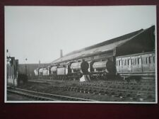 PHOTO  SCARBOROUGH SHEDS LOTS OF STEAM LOCOS