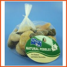 15 X Natural Stone Pebbles Assorted Sizes 1kg | Home Garden Décor Fish Tank Fill