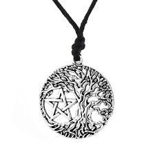 my shape Tree of Life Pentacle Pendant Necklace