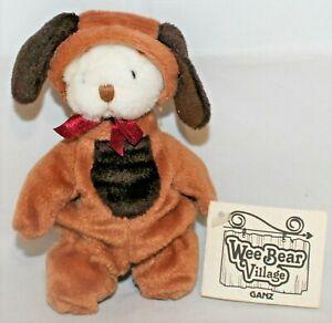 """Ganz Wee Bear Village Dog Paws - 5"""""""