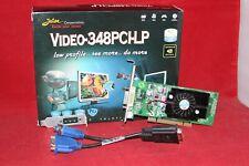 Jaton Nvidia GeForce 6200 512MB DDR2, PCI Graphics Card. (Video-348PCI-LP)