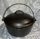 Wagner Ware Sidney 0 Cast Iron Dutch Oven 1269A Roaster pan Pot w/ lid