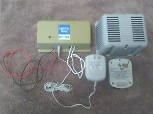 Invisible Fence ICT 725 Transmitter, LP-4100 Surge Protector And Battery Cover