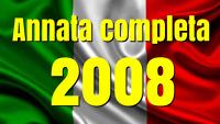 2008  ANNATA COMPLETA N° 66 TESSERE FILATELICHE INTROVABILI