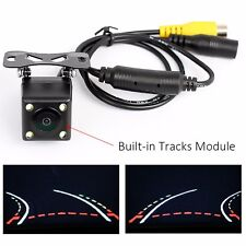 HD Night Vision Car Image Rearview Reversing Camera Universal Dynamic Trajectory