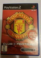 Manchester United Club Football PS2 Playstation 2 PAL *Complete* free postage