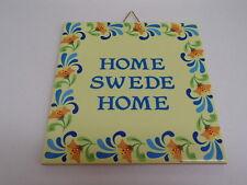 Swedish Ceramic Cork Backed Tile Trivet Hot Pad Home Swede Home #667