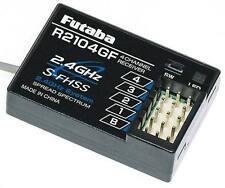 NIB Futaba R2104GF 4CH 2.4GHz S-FHSS Receiver 4PL 4PX
