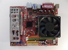 MSI K9NGM4 MS-7506 Zócalo AM2 placa madre con AMD Athlon X2 4850e CPU de doble núcleo