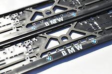 2x CAR LICENCE NUMBER PLATE SURROUNDS HOLDER FRAMES for BMW