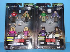 The Big Bang Theory Minimates Sets 1 & 2 - Entertainment Earth Exclusive VHTF
