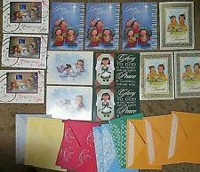 Lot of 13 St Labre Indian School holiday greeting cards Christmas Thanksgiving