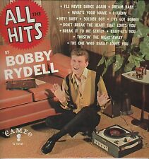 """Bobby Rydell """"All The Hits"""" 1962 Cameo 1019 """"Dream Baby""""Soldier Boy""""Hey Baby"""" NM"""