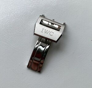 18mm SS Deployment Buckle Clasp For IWC Watch BIG PILOT
