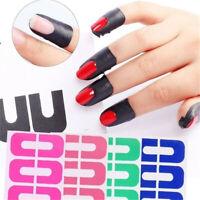10 Tips Peel Off nail art Tape Latex Tape & finger skin protected liquid Sticker