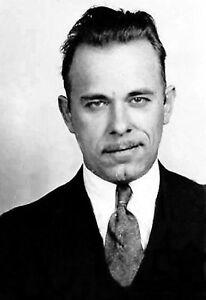 1934 Photo American Gangster-John Dillinger-Depression Era-Bank Robber-X Large