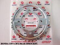 """HONDA 250 305 SUPERHAWK CB77 CB72 REAR SPROCKET 34T """"JAPANESE STEEL"""" #BI202#"""