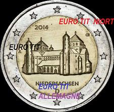 2  €   ALLEMAGNE   2014   NIEDERBACHBEN   PIECE  NEUVE         disponible