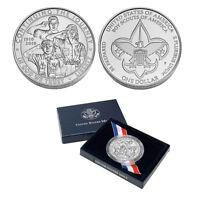 2010 Boy Scout Commemorative Silver Dollar Coin (Box/COA)