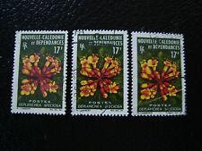 neues Caledonia Briefmarke YT Nr. 321 x3 gestempelt (A4) Neu-Kaledonien (Z)