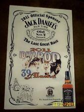 JACK DANIELS Iditarod 2011 Alaskan Sled Dog Race Collectible Advertising Poster