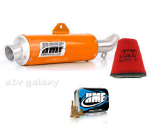 HMF Performance ORANGE Slip Exhaust Jet Kit Uni Filter Polaris Outlaw 525 IRS